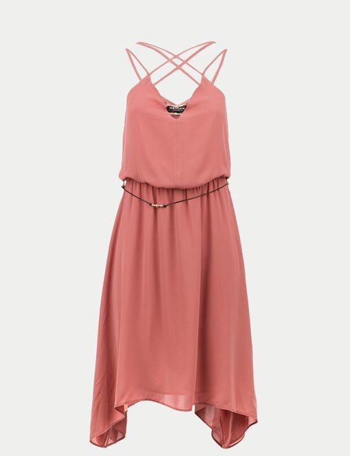 vestido-tirantes-rosa-morgan-2