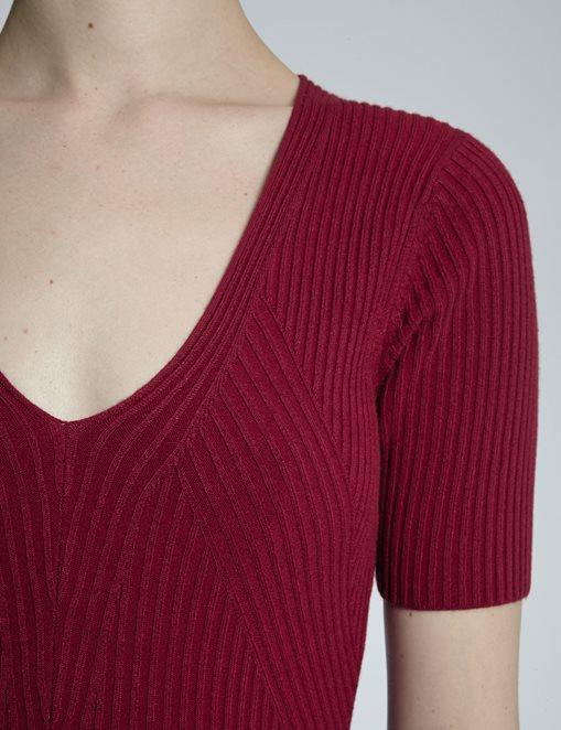vestido-punto-rojo-morgan-3
